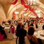Dinner in La Valette Hall, Malta