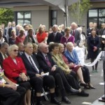 Hospice opening ceremony in September 2013