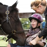 Equestrian Assistance Program for physically and mentally challenged children